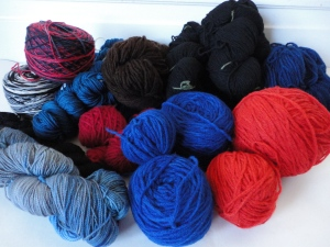 Hand-dyed in 2012