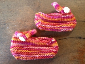 Warm Colored Tiny Shoes
