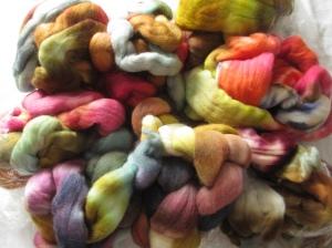 Janice's Hello Yarn fiber stash