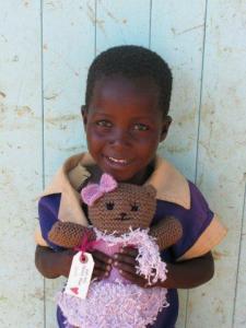 Anna bear in Zimbabwe