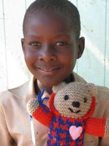 Irving bear in Zimbabwe