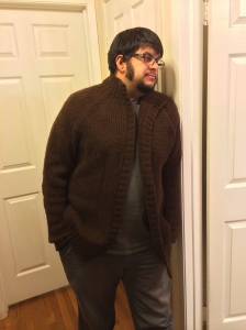 Handspun sweater done!