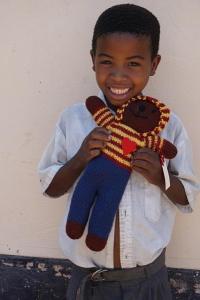 Omar Bear in Africa!